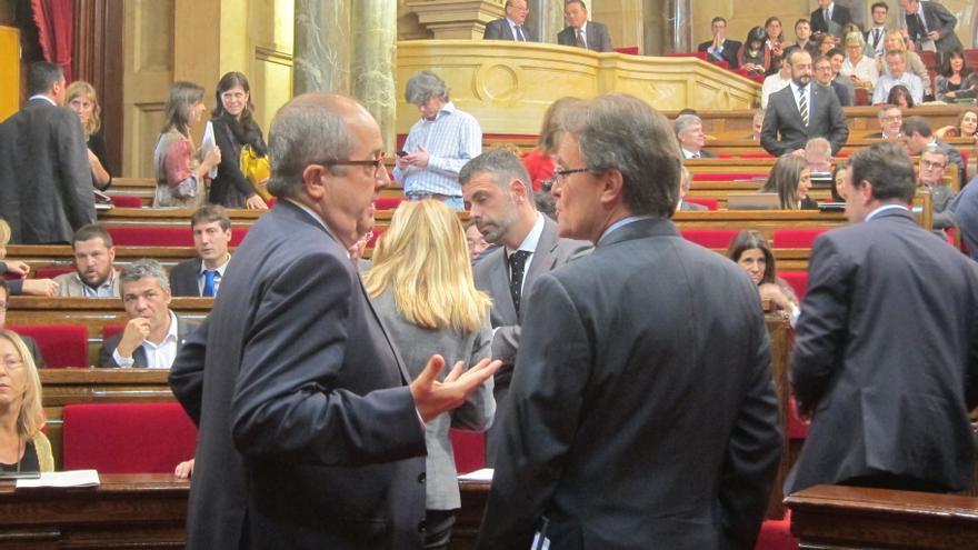 """Artur Mas considera """"evidente"""" que la consulta se hará con o sin acuerdo del Estado"""