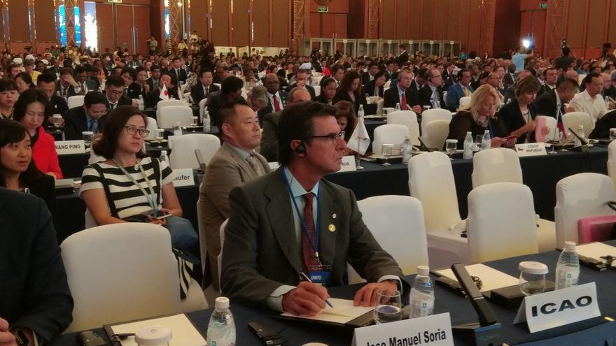 José Manuel Soria, en la asamblea general de la Organización Mundial del Turismo.
