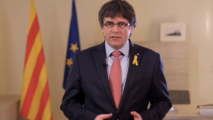 """Puigdemont aborda con sus exconsellers en Bélgica """"la nueva ofensiva"""" del Estado"""