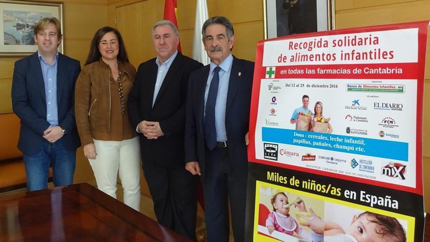 (Ampl) Revilla apoya la recogida solidaria del Banco de Alimentos Infantiles