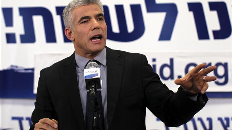 """Lapid: """"Israel ha dicho no a la política del miedo y el odio"""""""