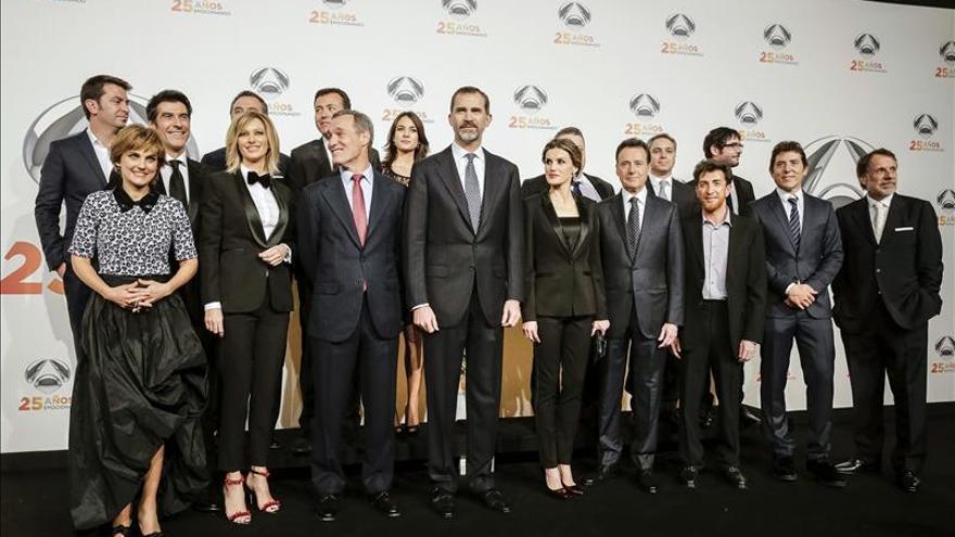 El 25 aniversario de Antena 3, en 5,5 millones de cupones de la ONCE