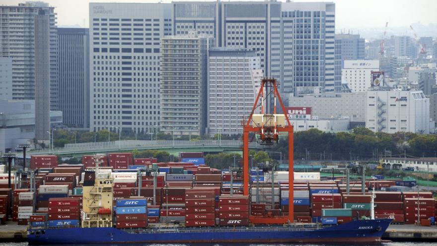 Japón tuvo en agosto un déficit comercial de más de 7.300 millones de euros