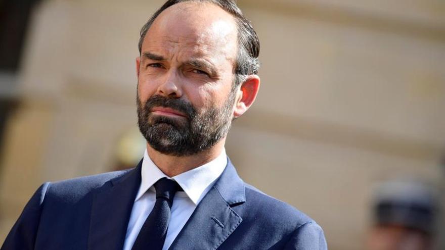 """El primer ministro Edouard Philippe quiere ir """"rápido"""" en la reforma laboral"""