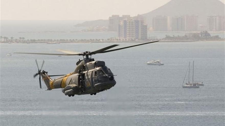 Helicóptero Puma del Ejército del Aire