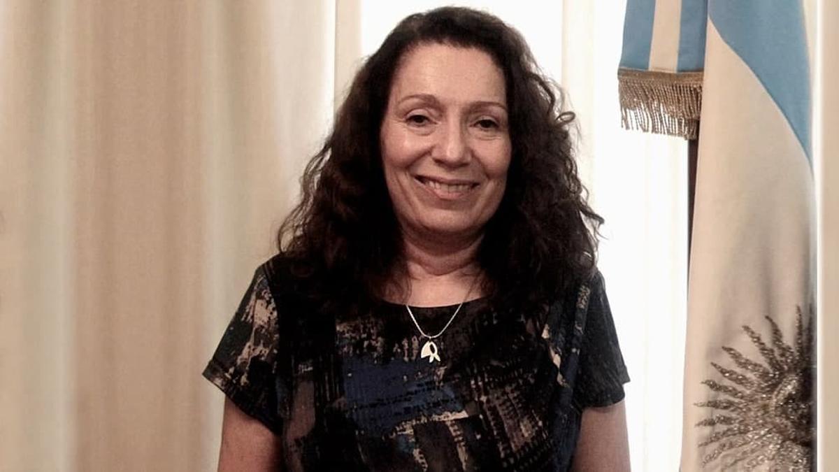 La interventora de la AFI, Cristina Caamaño.