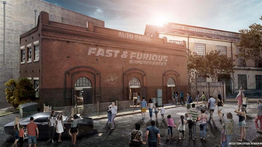 "La adrenalina de ""Fast & Furious"" llegará al parque Universal Studios en 2018"