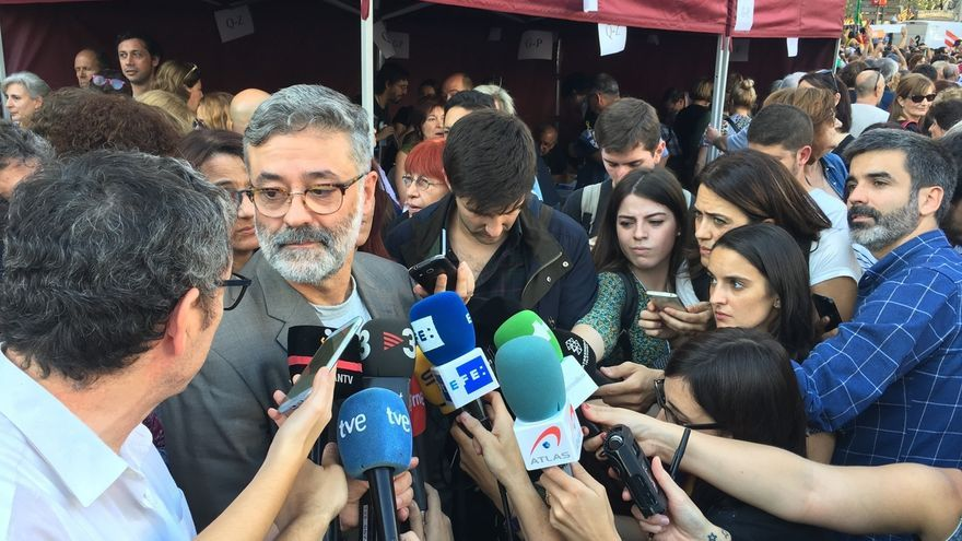 Carles Riera liderará la lista de la CUP que incluye a la independiente Bel Olid