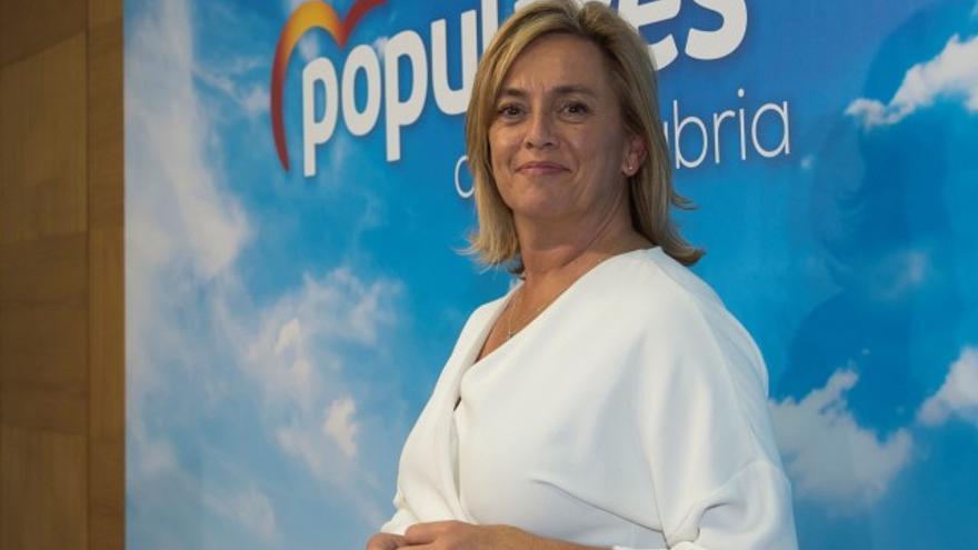 María Luisa Peón, expresidenta del Partido Popular en Torrelavega. | PARTIDO POPULAR