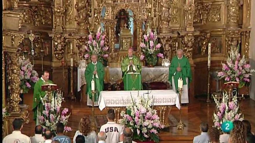 La Santa Misa, emitida en La 2 de TVE
