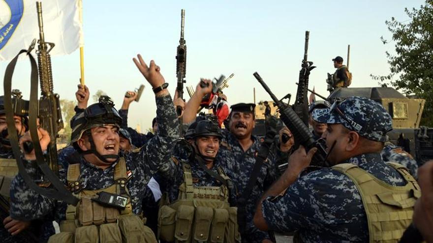 Más de 1.000 yihadistas murieron en el casco antiguo de Mosul, según la Policía