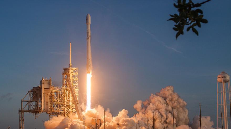 Una misión de SpaceX, la empresa de Musk