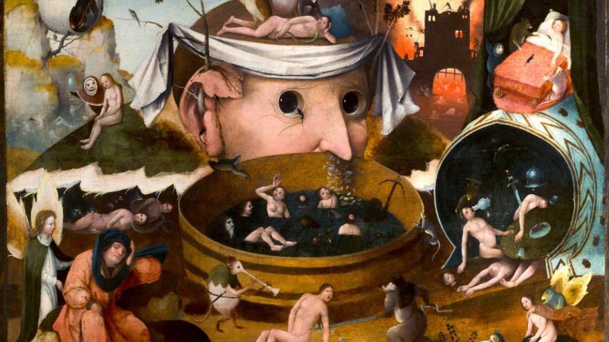 El Bosco (1445-1516) 'La visión de Tondal '