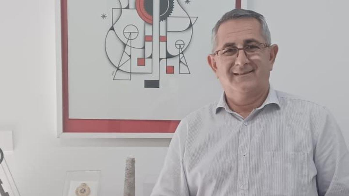 El alcalde de La Unión Pedro López Milán