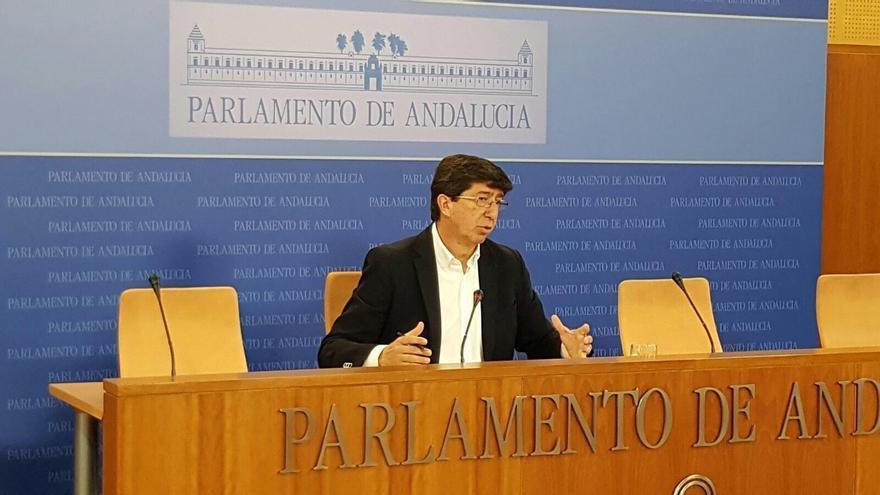 """Marín (Cs) espera que la """"división interna"""" del PSOE """"no perjudique"""" a la estabilidad de España ni """"afecte"""" a Andalucía"""