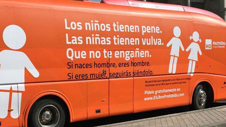 Autobús de Hazte Oír.