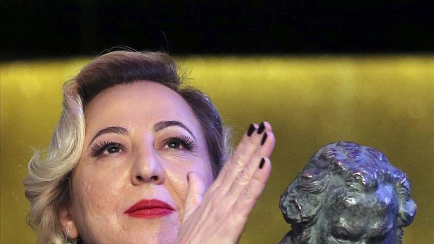 """Carmen Machi, Goya a la mejor actriz de reparto por """"8 apellidos vascos"""""""