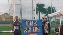 El atleta del Tenerife CajaCanarias establece plusmarca nacional y mundial de la temporada.