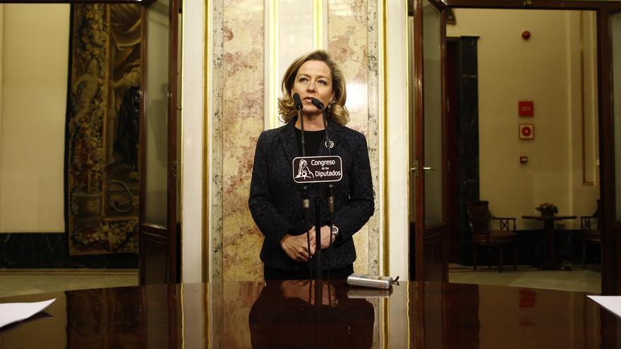 """Oramas (CC) cree que Bescansa ha llevado a su bebé al Congreso """"para figurar"""" y pide proteger a los menores"""