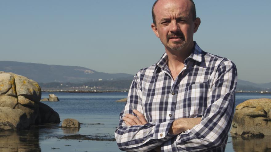 El periodista Carlos Hernández, autor de 'Los campos de concentración de Franco'.