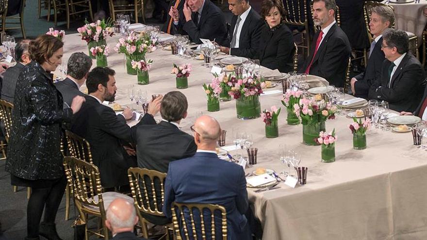 El Rey llama a la cooperación entre administraciones para conservar el Mobile Congress