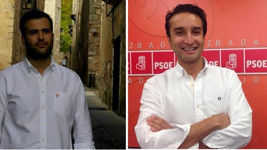 Candidatos del PSOE en Badajoz y Cáceres