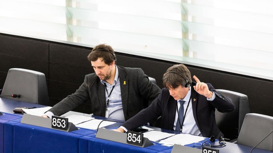 Los Verdes/ALE se resisten a aceptar que Puigdemont y Comín entren en su grupo de la Eurocámara
