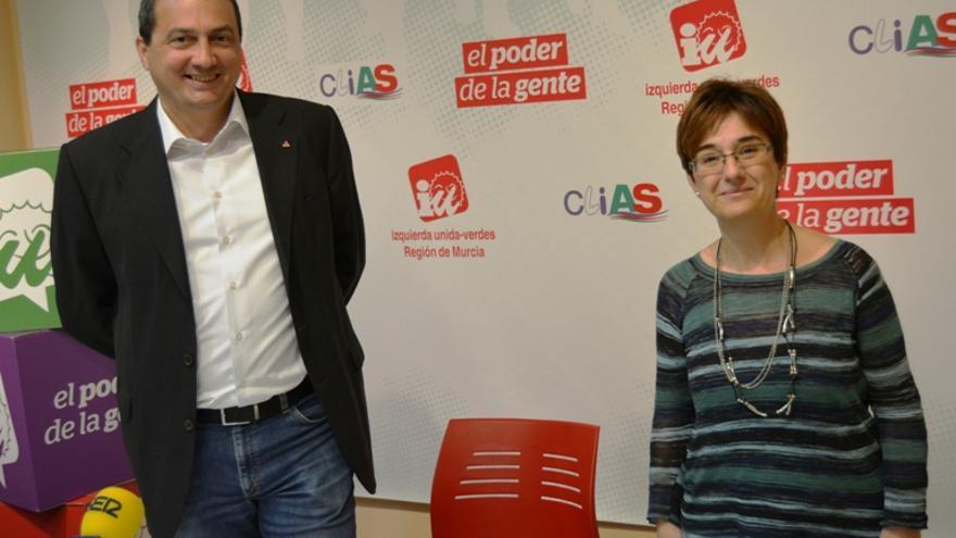 José Antonio Pujante y Esther Herguedas