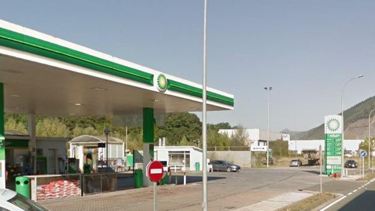 La gasolinera en la que tuvo lugar el accidente