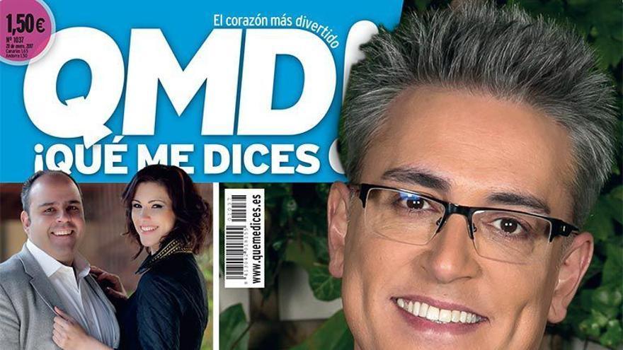 Kiko Hernández en la portada de QMD!