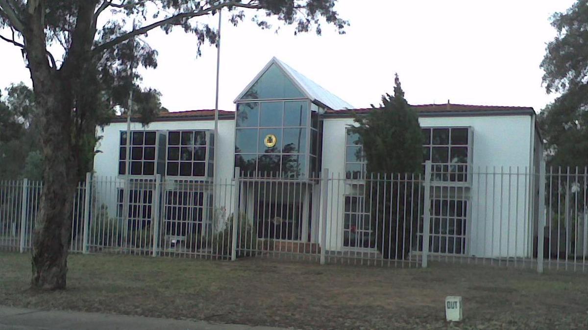 Embajada española en Australia.
