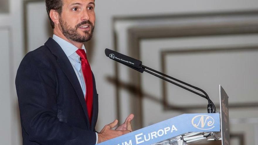 Casado descarta la coalición con el PSOE y da por seguras las elecciones