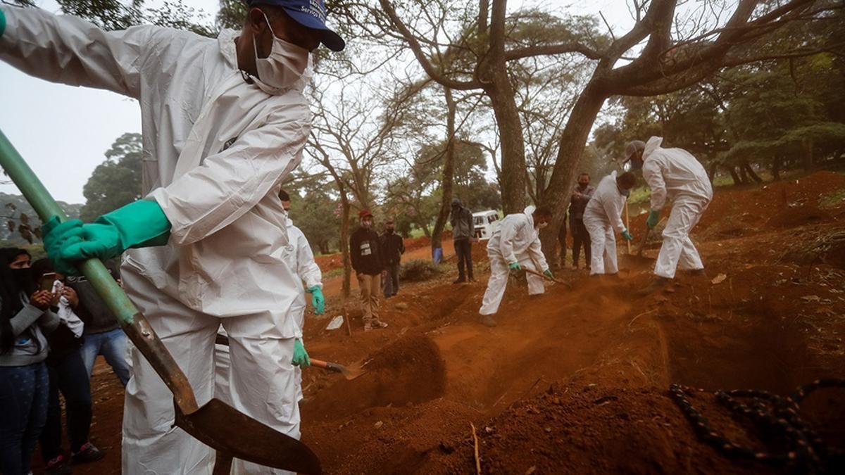 Brasil es el segundo país en el mundo en muertes por Covid, detrás de EE.UU.