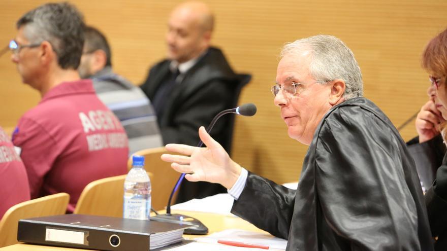 El abogado José María Palomino
