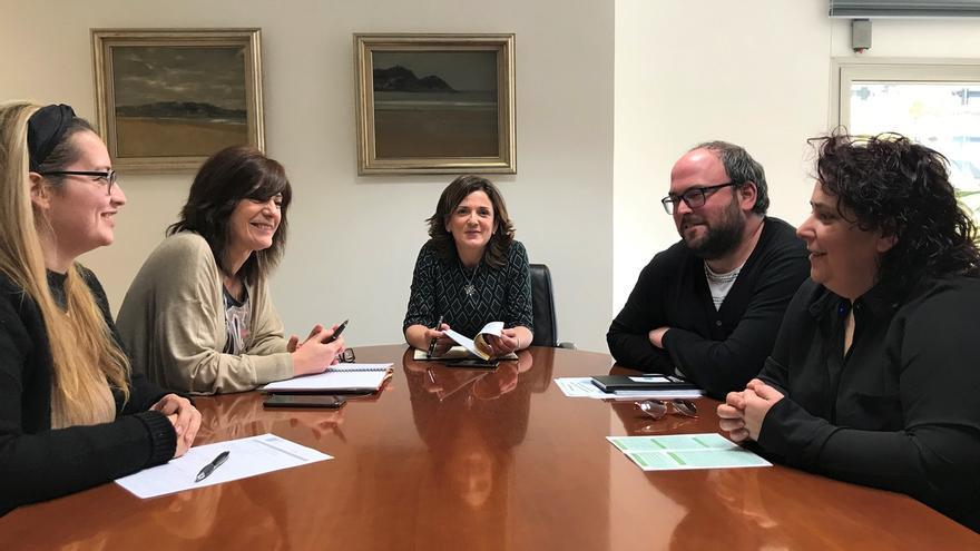 Beatriz Artolazabal se reúne con la Asociación de Profesionales de Atención temprana del País Vasco