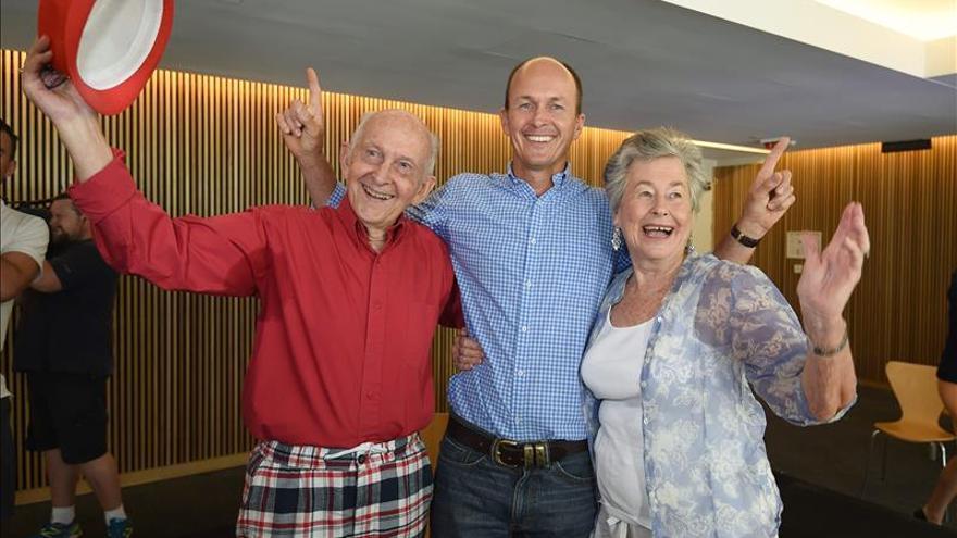 El periodista Peter Greste llega a Australia tras ser deportado de Egipto