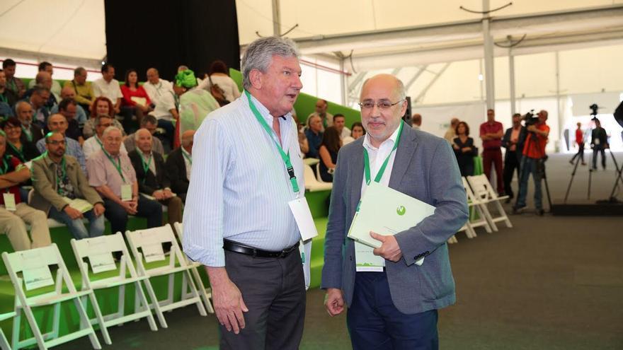 Pedro Quevedo y Antonio Morales. (Alejandro Ramos)