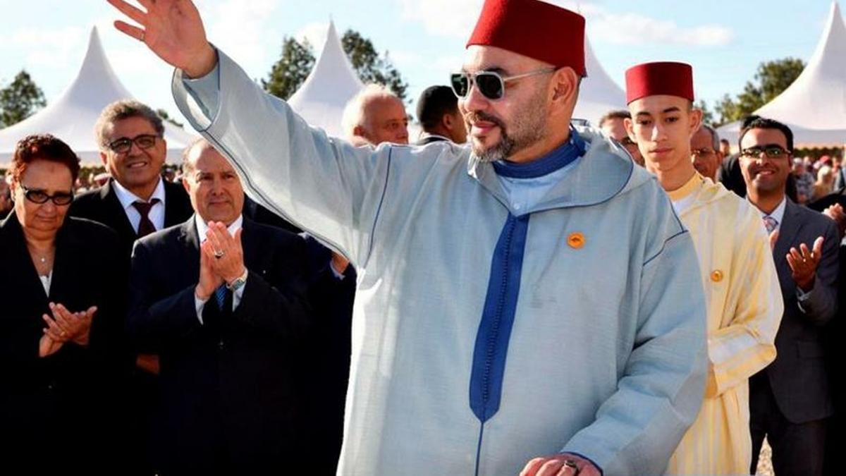 Imagen de archivo de Mohamed VI, rey de Marruecos.