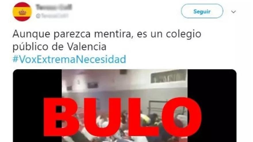 """No, este vídeo de niños rezando en una mezquita no es en """"un colegio público de Valencia"""", ni siquiera es en España"""
