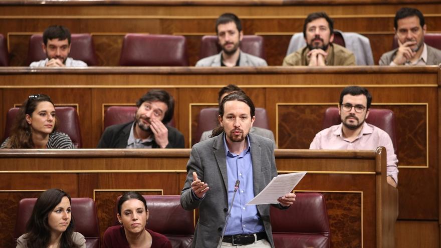 Unidos Podemos pide la dimisión de Montoro y ve la decisión del TC un nuevo motivo para la moción de censura