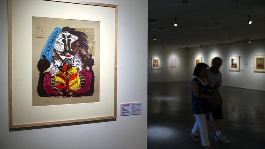 Litografías postreras de Picasso llegan a Taiwán de manos del museo texano