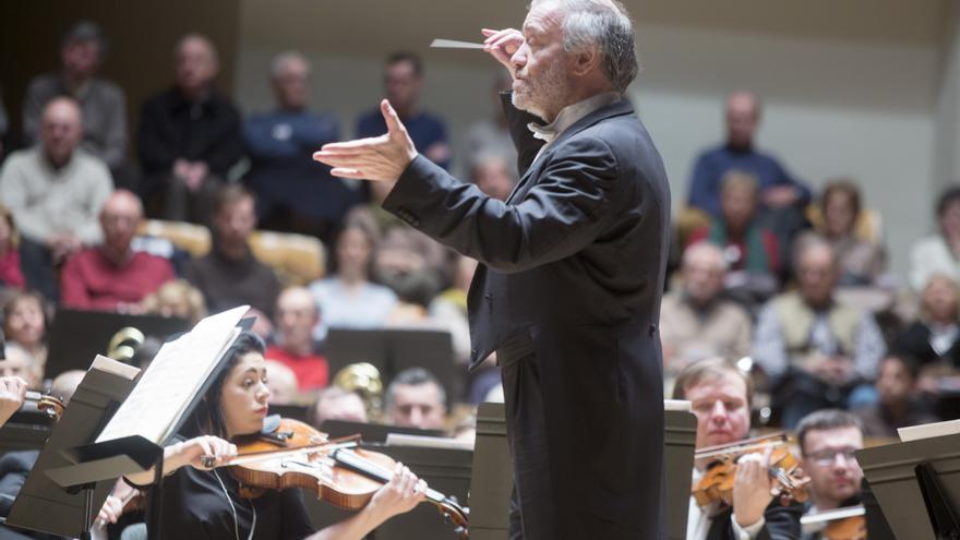 El director de Orquesta,  Valery Gergiev