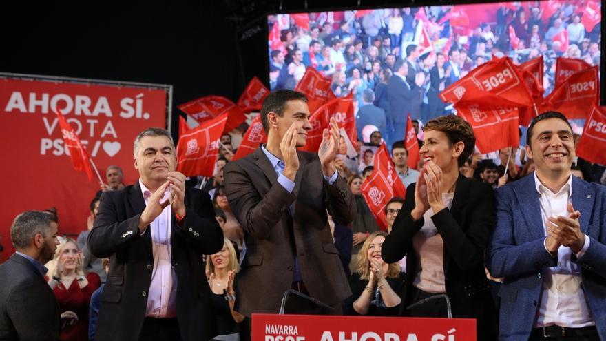 Sánchez acusa a la derecha de traicionar la foralidad de Navarra y expresa su orgullo por el Gobierno de Chivite