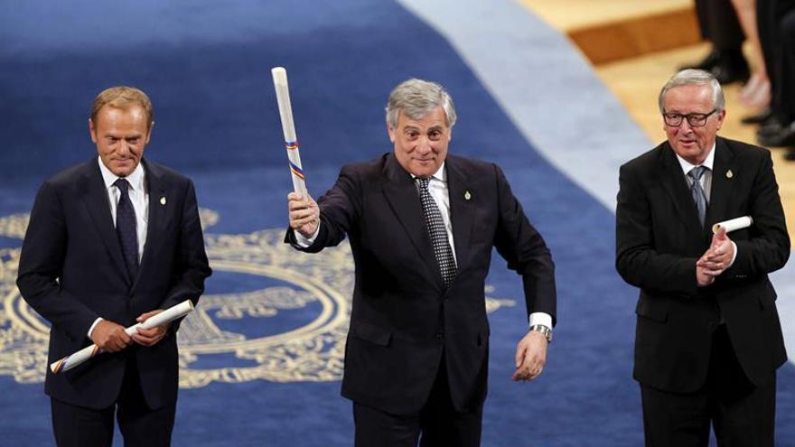 """Tajani (Parlamento Europeo) afirma que respetar la ley no es una opción, """"es una obligación"""""""