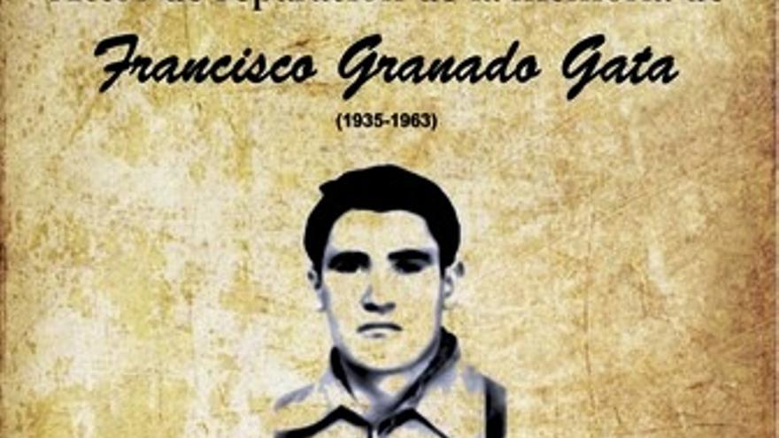 Cartel de los actos en homenaje a Granado, organizados en Valencia del Ventoso los días 17 y 18 de octubre de 2015