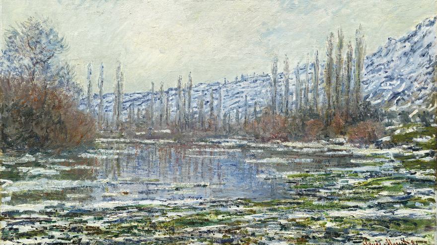 'El deshielo en Vétheuil' (1880), de George Catlin