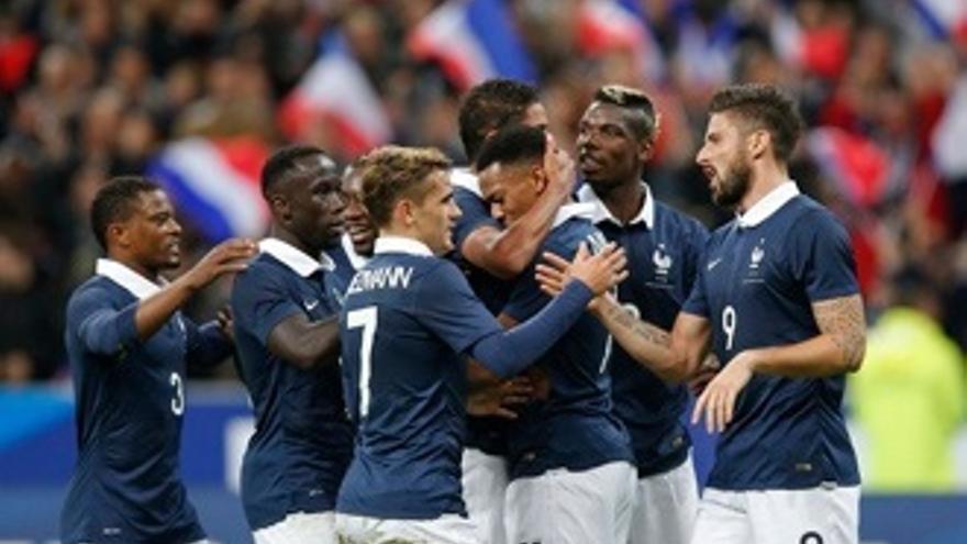 TVE emite hoy por sorpresa el Inglaterra-Francia en homenaje a las víctimas