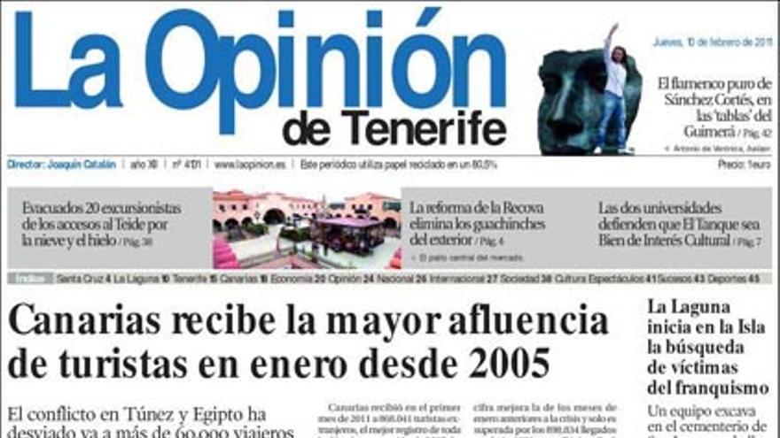 De las portadas del día (10/02/2011) #12