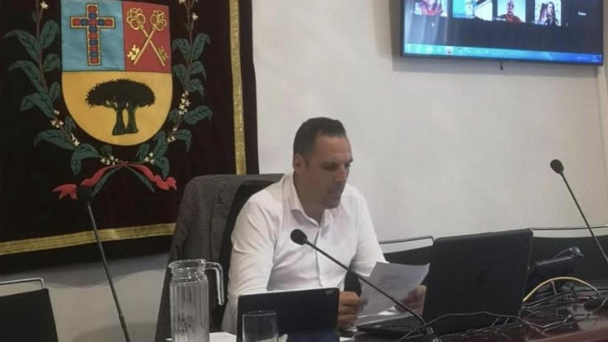 Jonathan Felipe, alcalde de Breña Alta.