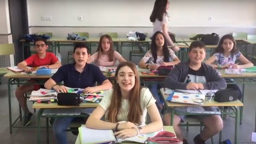 Fotograma videoclip 'Solo quiero bailar'